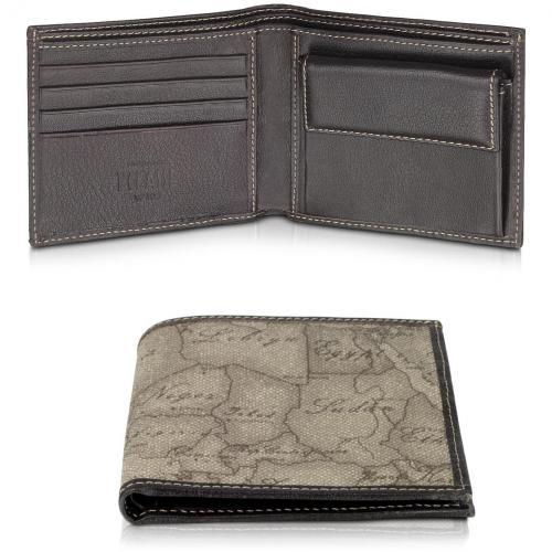 Herren-Brieftasche mit Geoprint von Alviero Martini 1A Classe