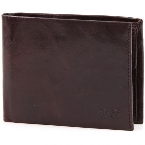 Arezzo Geldbörse Herren Leder braun 12 cm von Boss Black