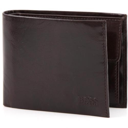 Asolo Geldbörse Herren Leder braun 12 cm von Boss Black