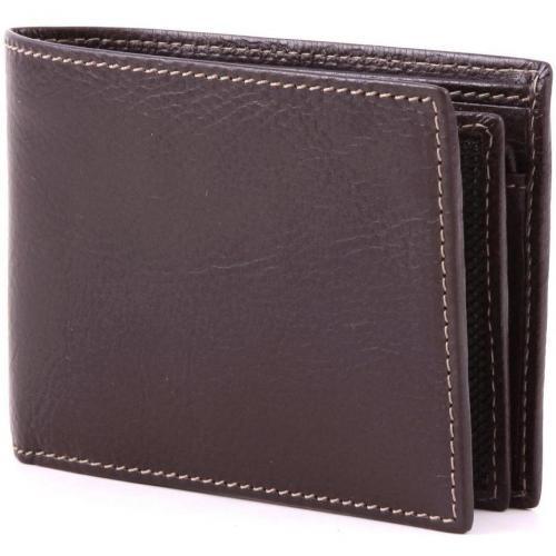 Life Pelle Geldbörse Herren Leder dunkelbraun 13 cm von Bric's