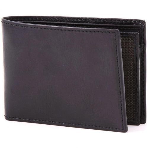 Life Pelle Geldbörse Herren Leder schwarz 13 cm von Bric's