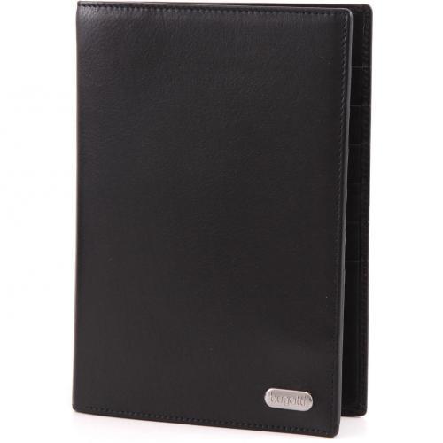 Basic Line Geldbörse Herren Leder schwarz 16,5 cm von Bugatti