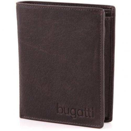 Go West Geldbörse Herren Leder braun 12 cm von Bugatti