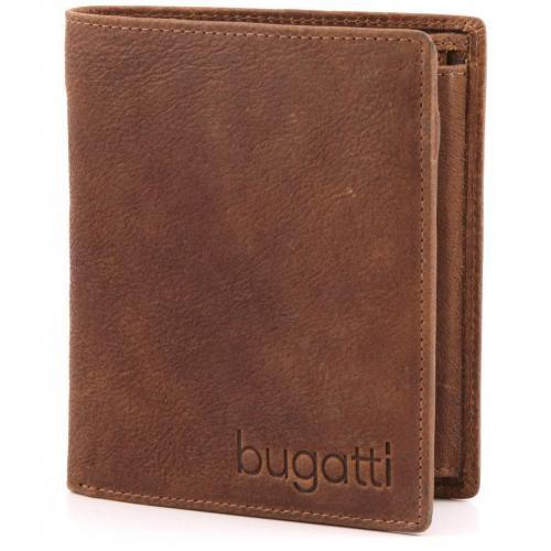 Go West Geldbörse Herren Leder cognac 12 cm von Bugatti