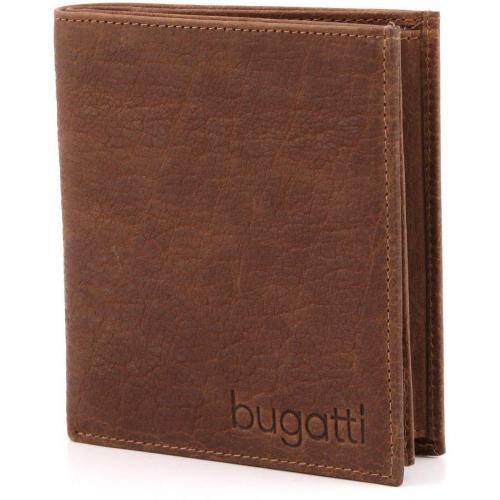 Go West Geldbörse Herren Leder cognac 12,5 cm von Bugatti