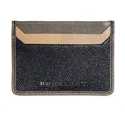 Kreditkartenhülle mit Metalllogo von Burberry