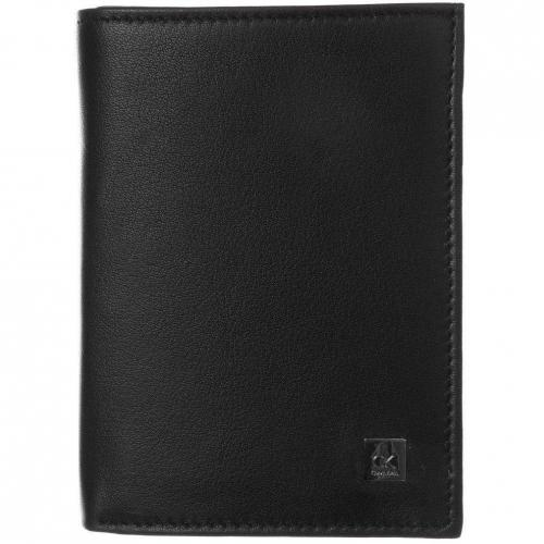 Geldbörse black mit 12 Kartenfächern von CK Calvin Klein