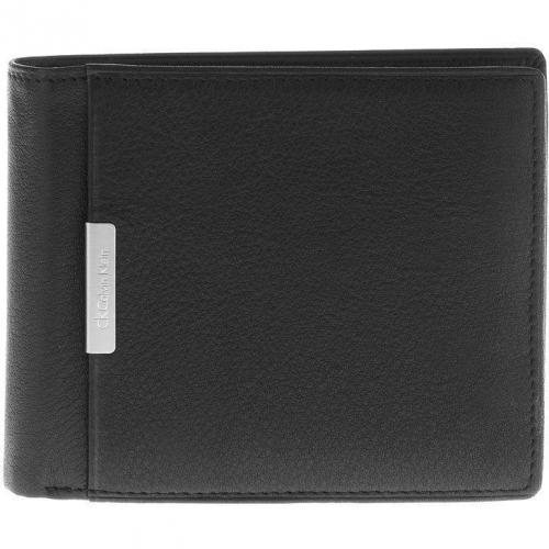 Geldbörse black mit 9 Kartenfächern von CK Calvin Klein