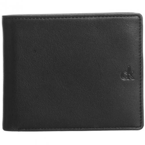 Geldbörse black mit Sichtfach für Ausweis von CK Calvin Klein