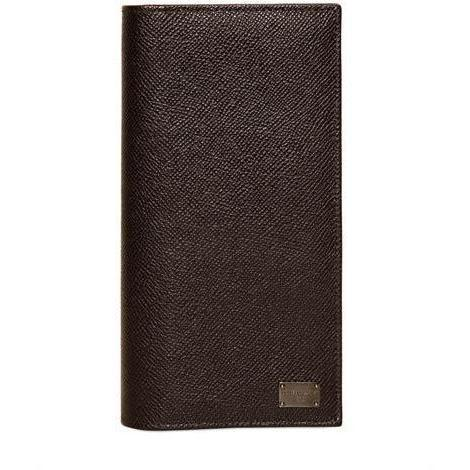 Lange Brieftasche aus Dauphine Leder von Dolce & Gabbana