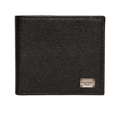 Us Dollar Brieftasche aus Dauphine Leder von Dolce & Gabbana