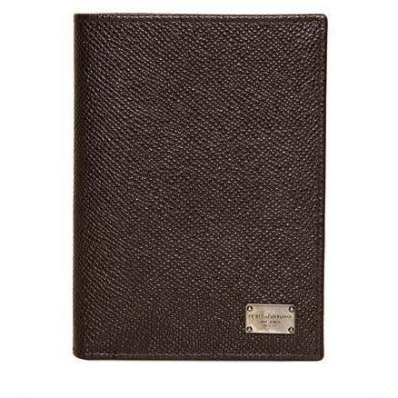 Yen/Britische Brieftasche aus Dauphine Leder von Dolce & Gabbana