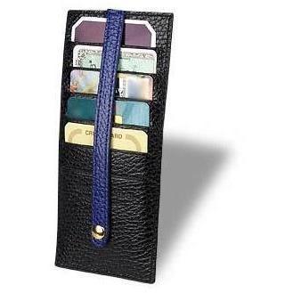 Kreditkartenhalter aus geprägtem Leder von Fontanelli