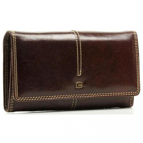 Geldbörse Leder braun 17,5 cm von Giudi