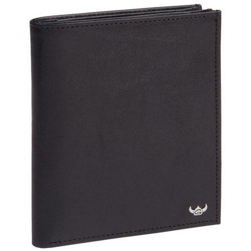Geldbörse schwarz 12 x 10,5 x 2 cm von Golden Head