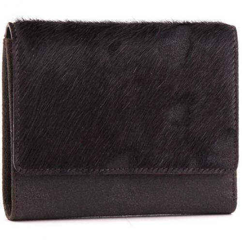Die Kuh Elsa Geldbörse Leder braun 12,5 cm von Jost