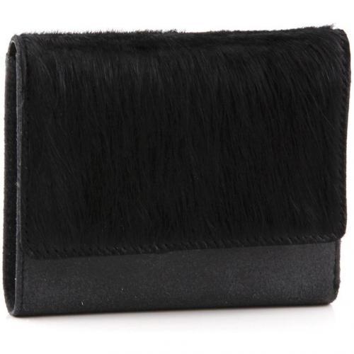 Die Kuh Elsa Geldbörse Leder schwarz 12,5 cm von Jost
