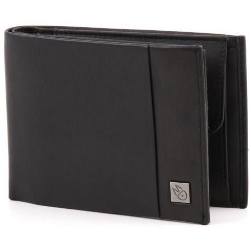 Catch All Geldbörse Herren Leder schwarz 12,5 cm von Mandarina Duck