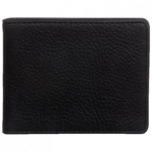 Geldbörse black in dezenter Vintage-Optik von Männersache by Liebeskind