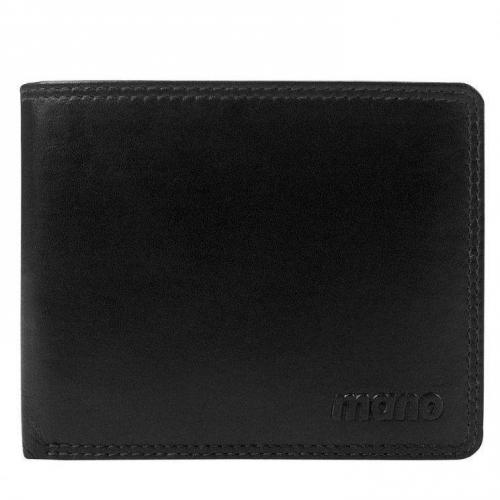 Oxford 11,5 cm Geldbörse schwarz von mano