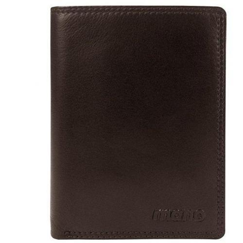 Oxford 12,5 cm Geldbörse dunkelbraun von mano