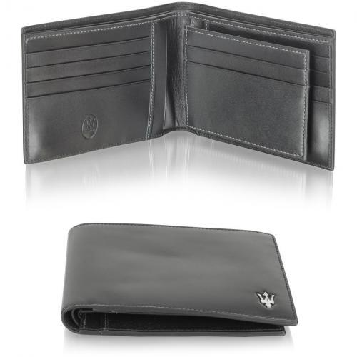 Brieftasche aus weichem Leder von Maserati