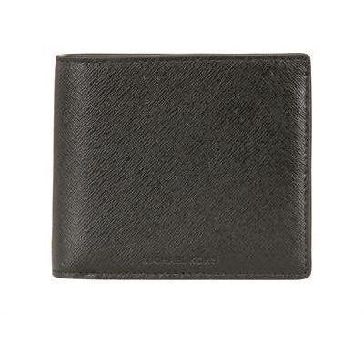 Brieftasche aus Saffianoleder Black von Michael Michael Kors