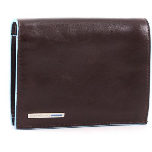 Blue Square Geldbörse Herren Leder mahagoni 12,5 cm von Piquadro