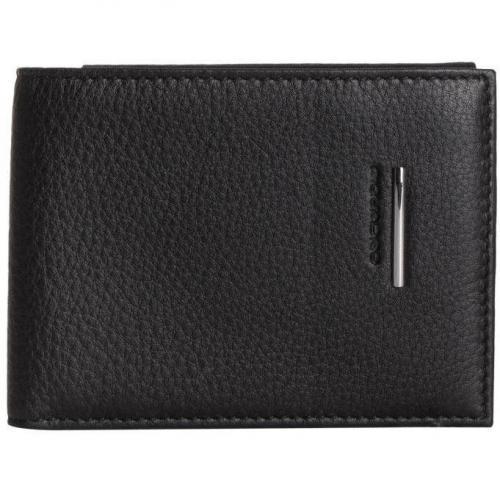 Brieftasche schwarz von Piquadro