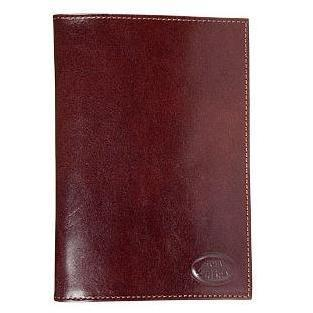 Braunes Passport-Etui aus Leder von Robe di Firenze