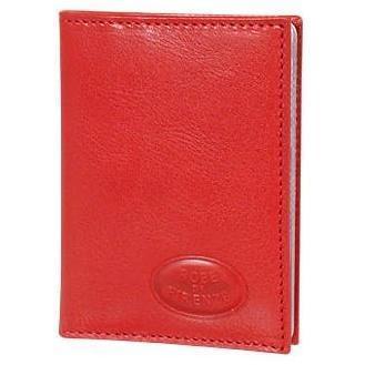 Rotes Kartenetui aus Kalbsleder von Robe di Firenze