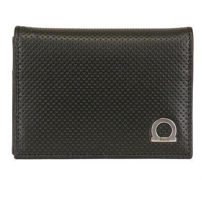 Melrose Brieftasche Schwarz von Salvatore Ferragamo
