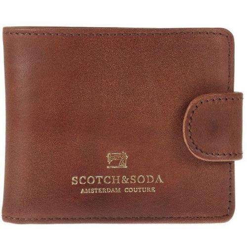 Geldbörse brown mit 2 Kartenfächern von Scotch & Soda