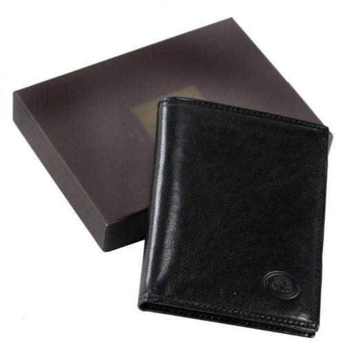 Story Uomo 10,5 cm Geldbörse schwarz von The Bridge