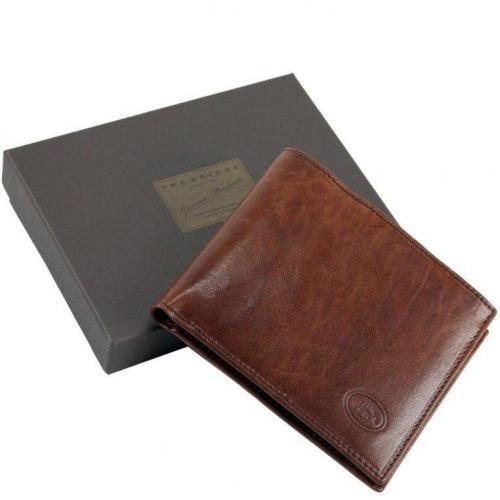 Story Uomo Export 12 cm Geldbörse marrone 12 x 10 x 1 cm von The Bridge