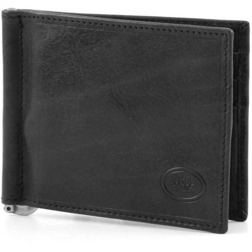 Story Uomo Geldbörse Leder schwarz 10,5 cm von The Bridge