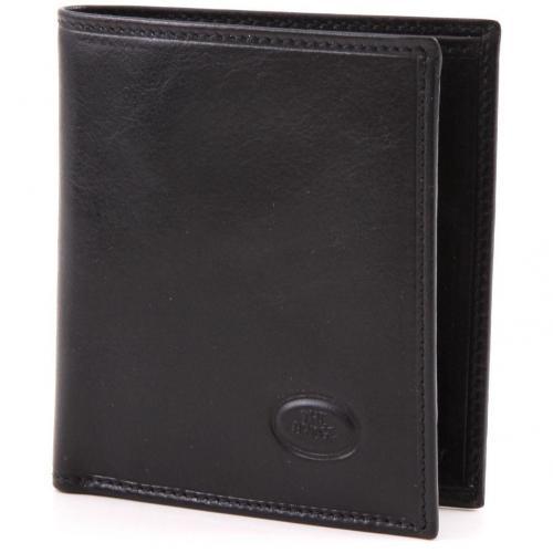 Story Uomo Geldbörse Herren Leder schwarz 10,4 cm von The Bridge