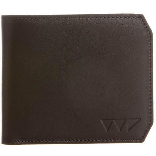 Hex Geldbörse brown leather mit 6 Kartenfächern von Wincer & Plant
