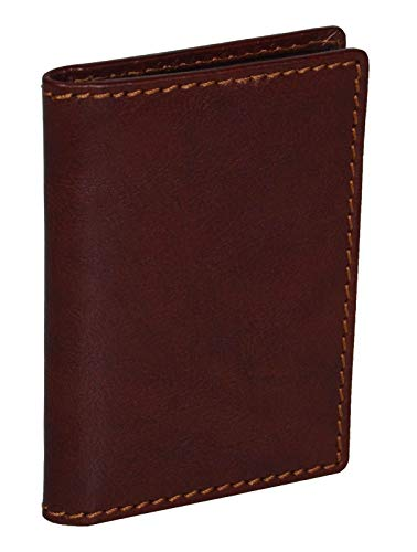 Leonhard Heyden Cambridge Bilfold Card Case Cognac