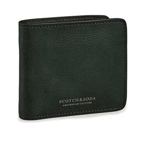 Scotch & Soda Classic Leather Billfold Wallet Amalfi Green