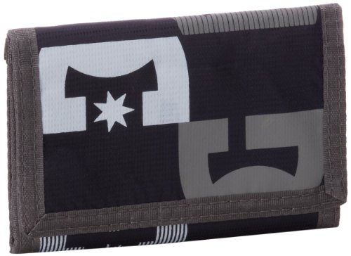 DC Shoes Herren Wallets Right Back, Black, Einheitsgrösse, D051330060-BLKD