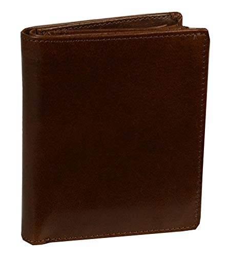 Leonhard Heyden Cambridge Combi Wallet Redbrown
