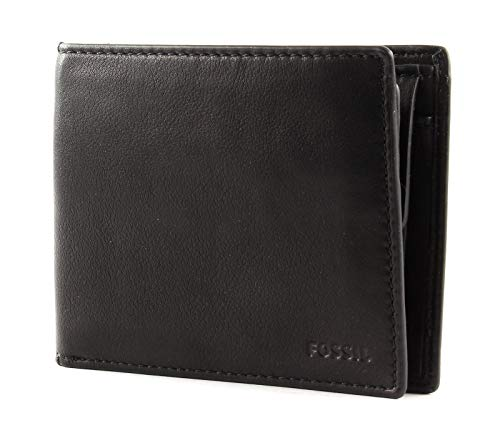 Fossil Camp Large Coin Pocket Black