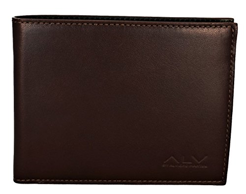 Geldbörse Alviero Martini Herren Braun/Grün Wallet Men Brown/Green