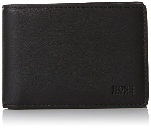 BOSS Business Herren Majestic_6cc Flap Geldbörse Schwarz (Black)