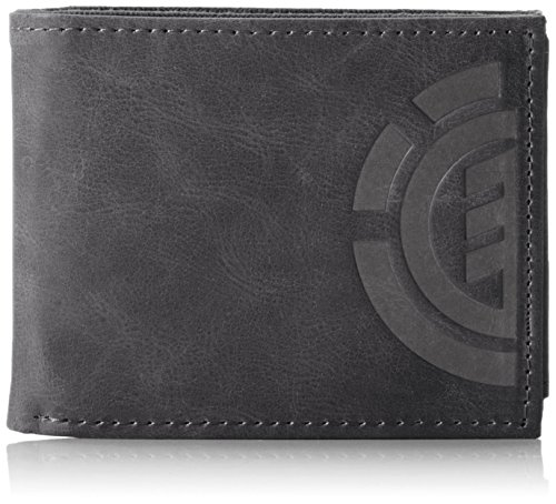 Element Herren Daily Elite Wallet Geldbörse, Schwarz (Black), 1x7x9 cm