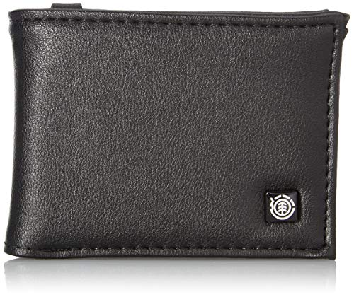 Element Herren SEGUR Wallet, Schwarz (Flint Negro), 15 Centimeters