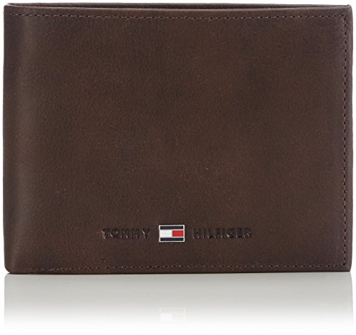 Tommy Hilfiger Herren Johnson CC and Coin Pocket Mappe, Braun (Brown 041), 14x10x2 cm