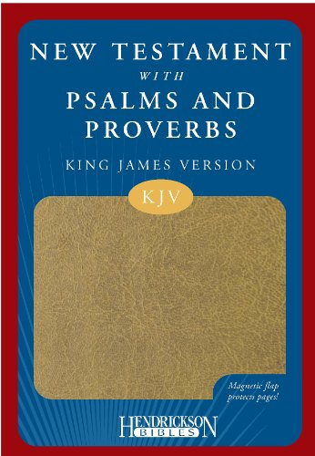 New Testament with Psalms and Proverbs-KJV-Magnetic Closure: King James Version