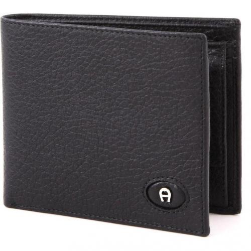 Aigner Basics Leder black 12 cm